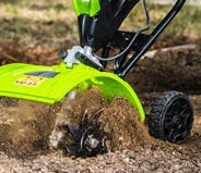 Cordless & Electric Cultivators and Dethatchers | Greenworks