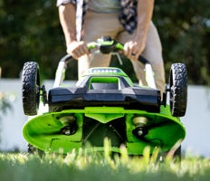 Battery-Powered, Cordless & Electric Lawn Mowers | Greenworks