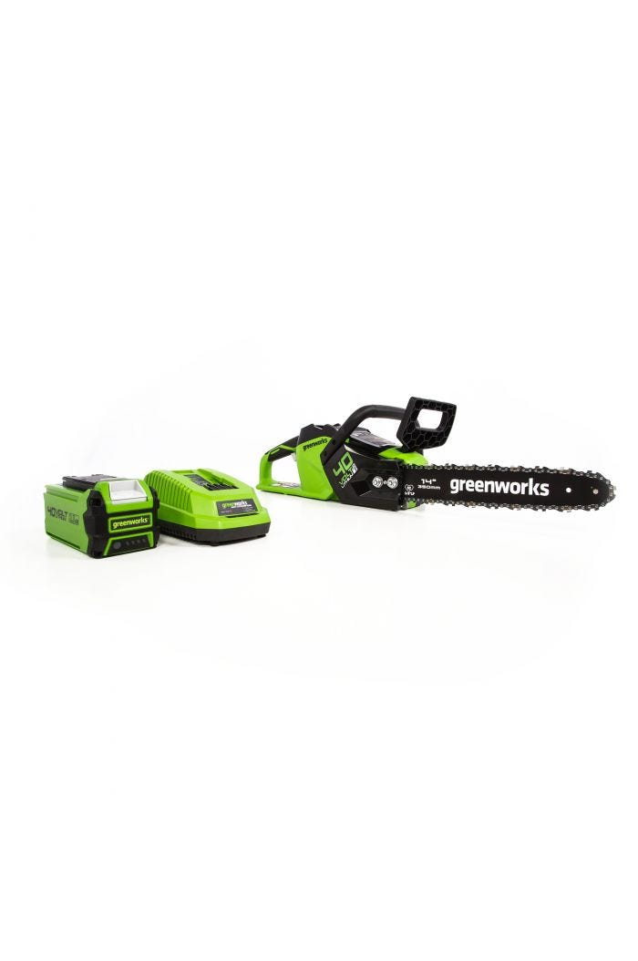 40V Cordless 14 inch Brushless Chainsaw with 2.5 Ah Battery