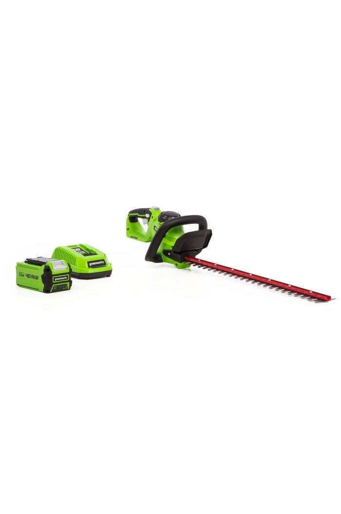 40V Cordless 24 inch Hedge Trimmer