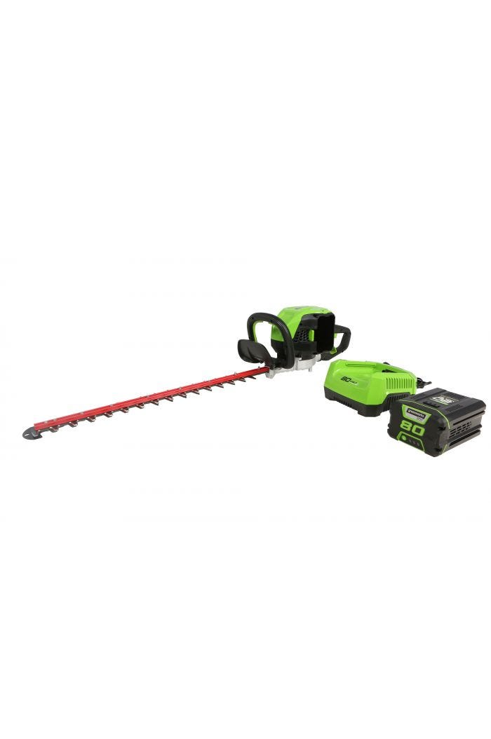 "80V Cordless 26"" Brushless Hedge Trimmer 