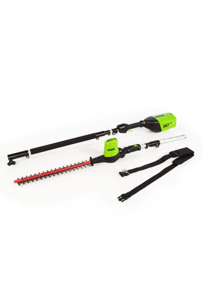 Pro 80V Cordless 20 inch Pole Hedge Trimmer (Tool Only)