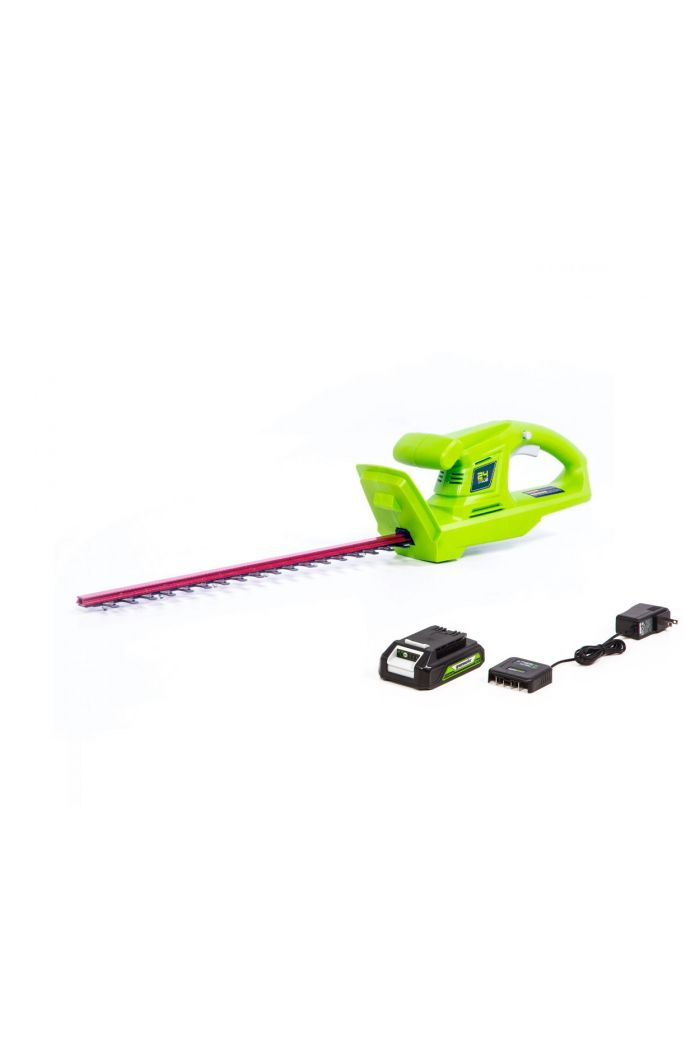 24V Cordless 20-inch Hedge Trimmer