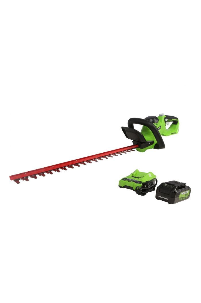 24V Cordless 22-Inch Hedge Trimmer | Greenworks
