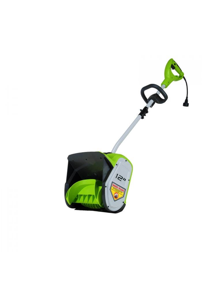 "8 Amp 12"" Corded Snow Shovel"