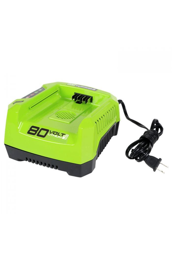 80V Rapid Battery Charger | Greenworks Pro