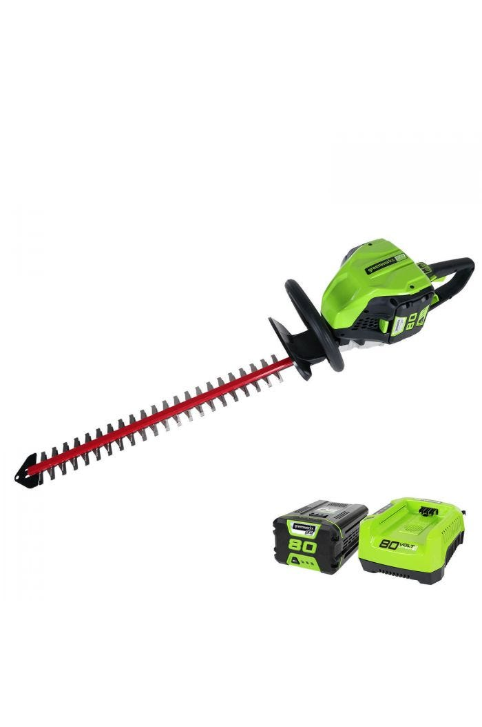 "80v 26"" Cordless Brushless Hedge Trimmer w/ 2.0 Ah Battery"