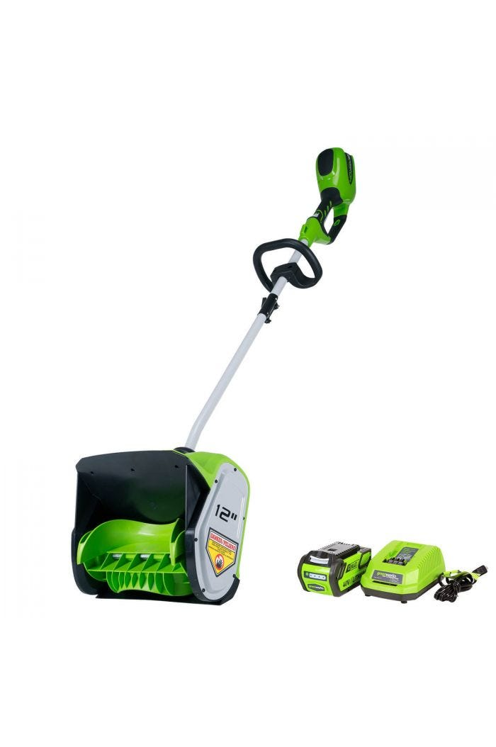 40V Cordless 12 inch Brushless Snow Shovel