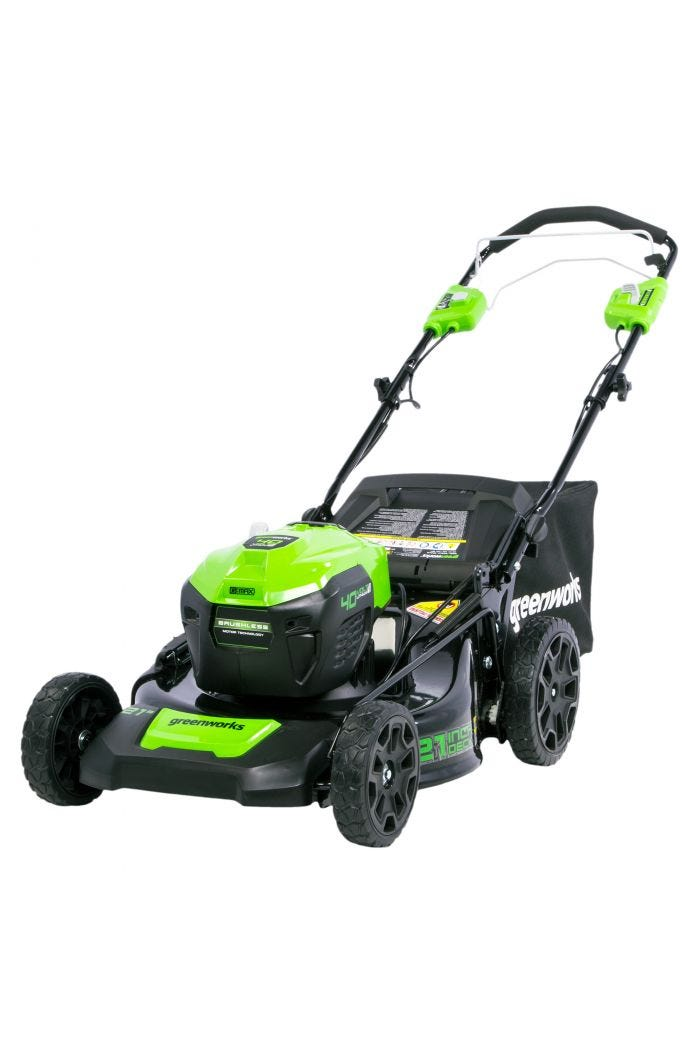 40V 21 inch Cordless Self-Propelled Brushless Lawn Mower (Tool Only)
