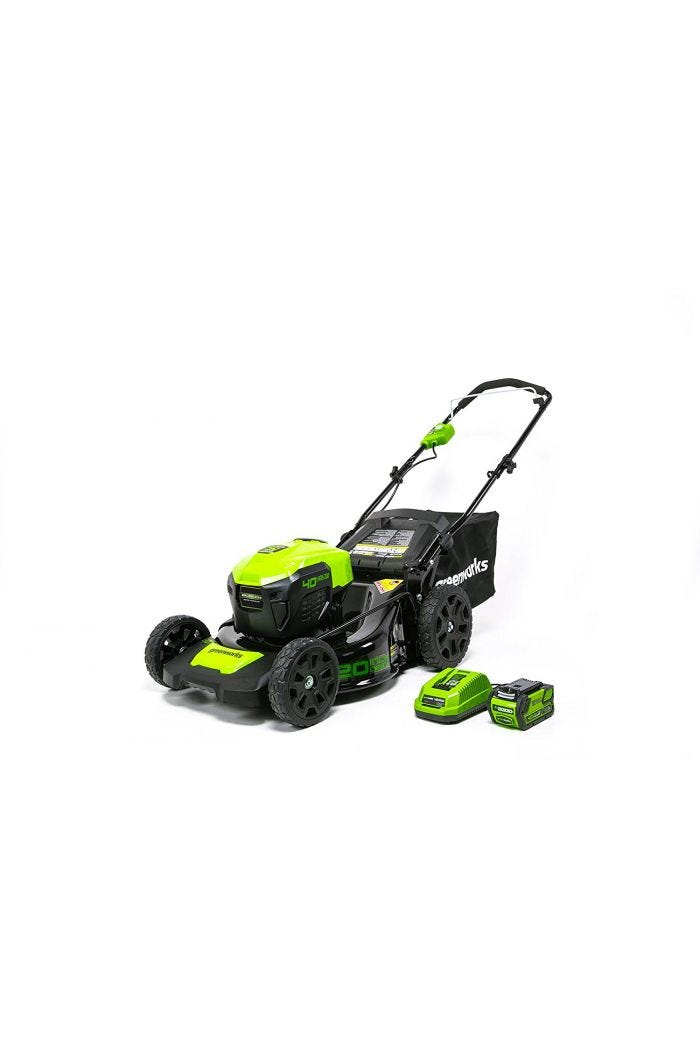 40V 20 inch Cordless Lawn Mower with 4.0 Ah Battery