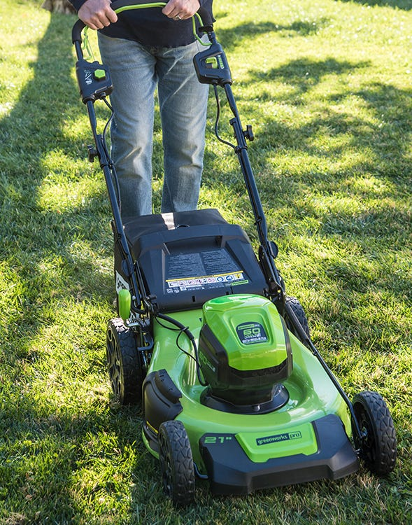 60V Self Propelled Mower